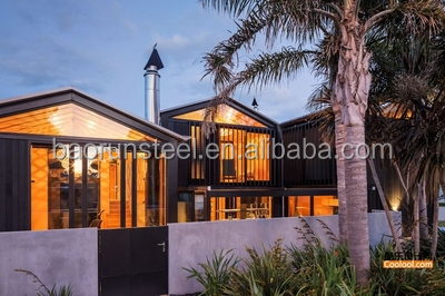 BAORUN Australia Standard Transportable Beach Real Estate steel structure Houses for Australian