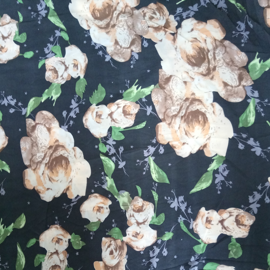High quality printing chiffon fabric price ,plain stock silk chiffon embroidered fabric for ladies dress,satin chiffon fabric