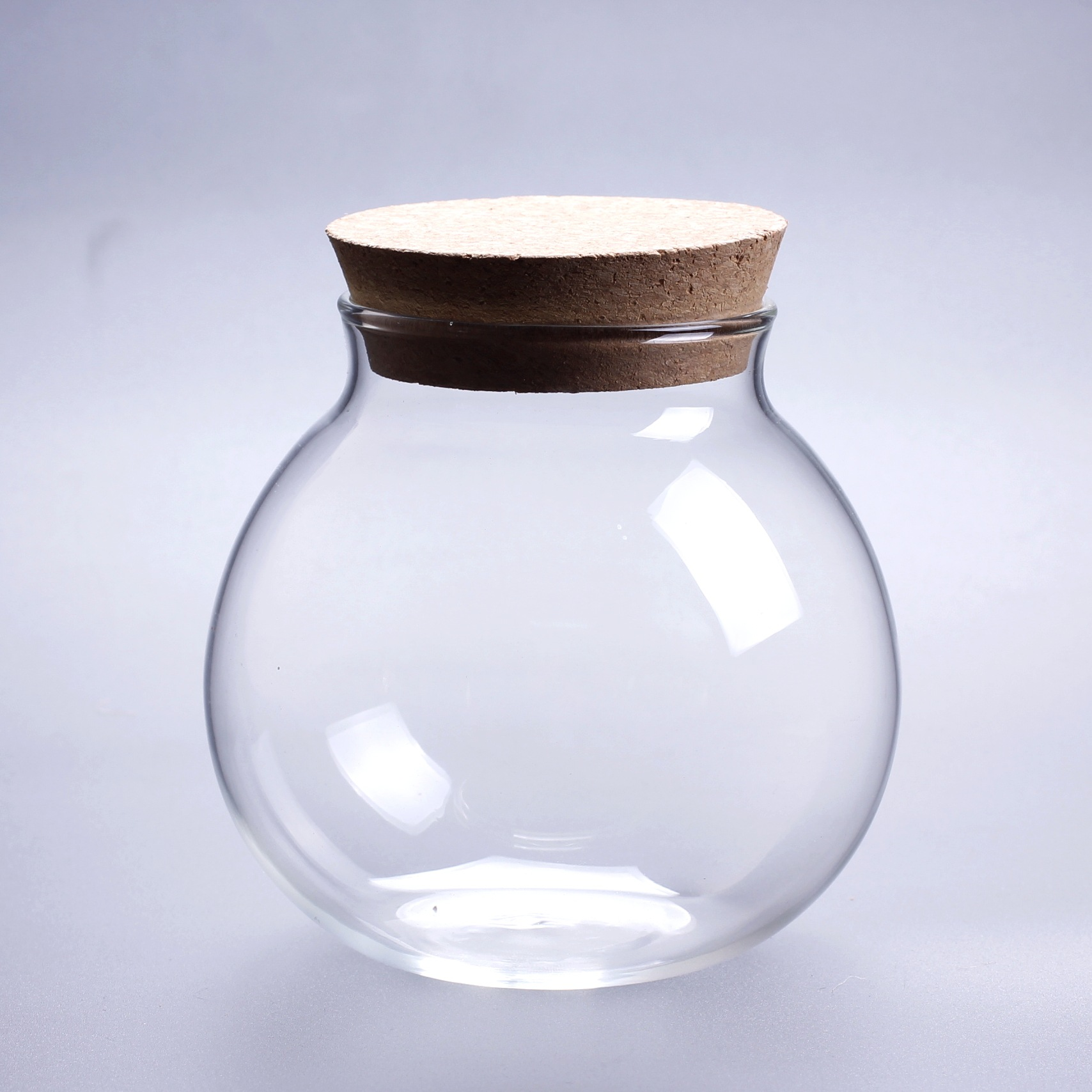 micro landscape glass bottle glass vase mouth ball moss diy glass bottle home decoration 10 10. Black Bedroom Furniture Sets. Home Design Ideas