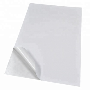 80/95/100 Gsm A3 A4 A5 Self Adhesive White Woodfree Sticker Paper