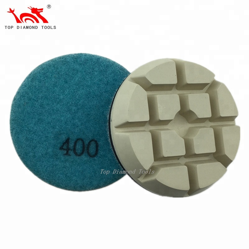 Wholesale Europe 3 inch 80mm Concrete Floor Dry Diamond Polishing Pad