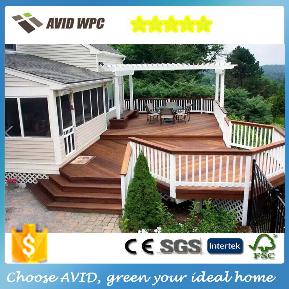 2016 materiales de construcci n baratos jard n patio de madera terrazas al aire libre wpc - Materiales de construccion baratos ...