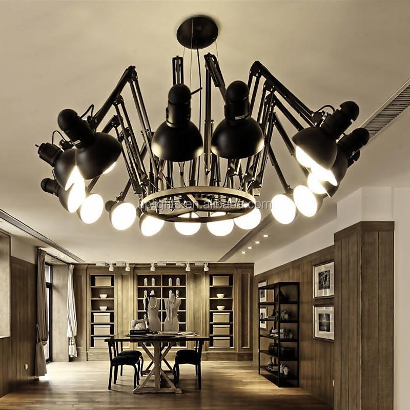 Replica Ingo Maurer Zettelz 5 Black Large Pendant Lamp Light Buy