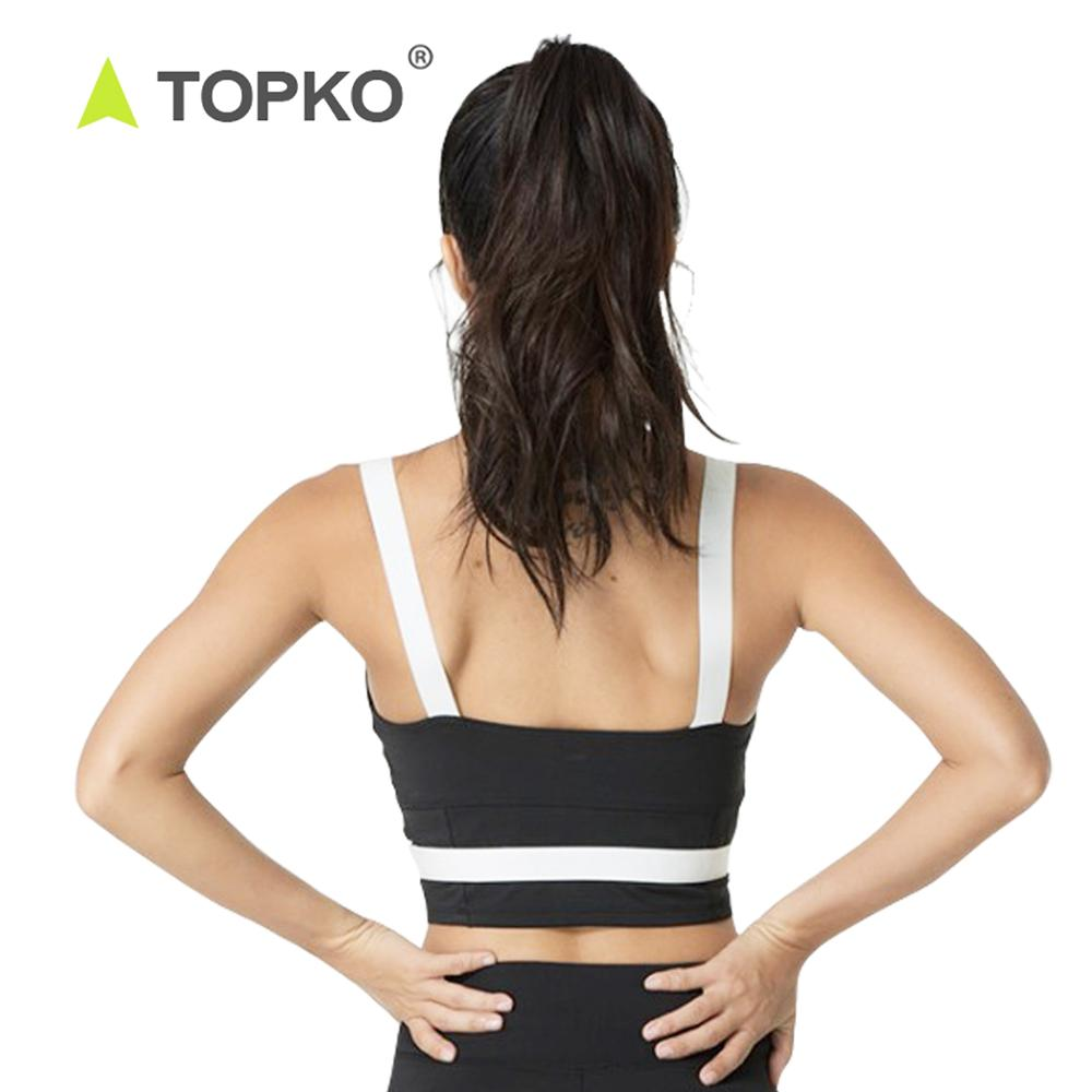 TOPKO High Quality Wholesale Sport-BH-Gymnastik-Frauentrainings-Kleidung