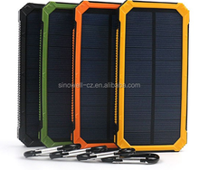 Portable power bank station solar phone charger 20000mah polymer battery