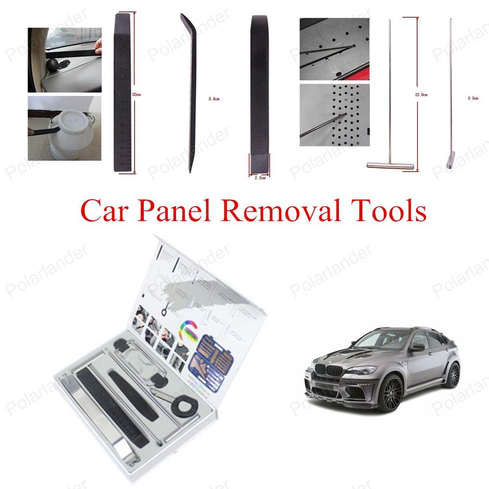2016 новые ремонт автомобилей комплект инструментов 9 шт./компл. комплект инструментов автомобиля удаление панель инструментов