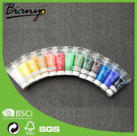 OEM high quality 100ml acrylic colour 24 colors artist acrylic paint