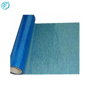 Factory Supplier PE Adhesive Carpet Plastic Protective Blue Film