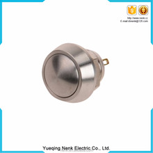 Quality Guaranteed IP67 12mm Aluminum Momentary Normal Open push button metal Switch