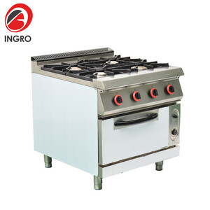 Commercial Restaurant Equipment 4 Burner Gas Cooker/2 Burner Electric Cooktop/Tabletop Gas Stove