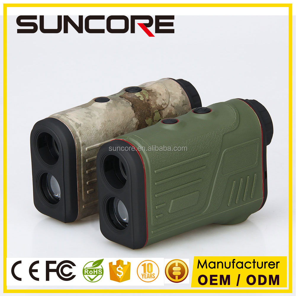 SUNCORE Laser Range Finder Golf and Hunting 6X Telescope With Range/Speed/Angle 600M Distance Measure Device