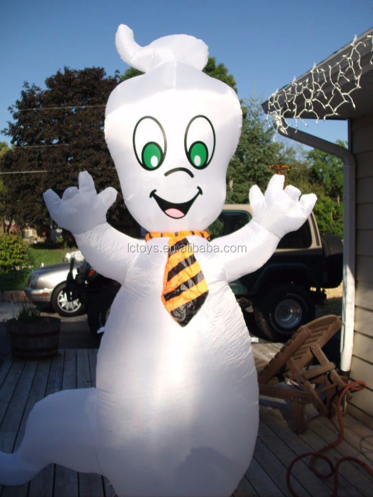 High quality friendly ghost inflatable halloween yard decoration