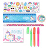 INTERWELL LW7698 Kids Fancy Stationery, Cheap Personalized Unicorn Stationery Sets