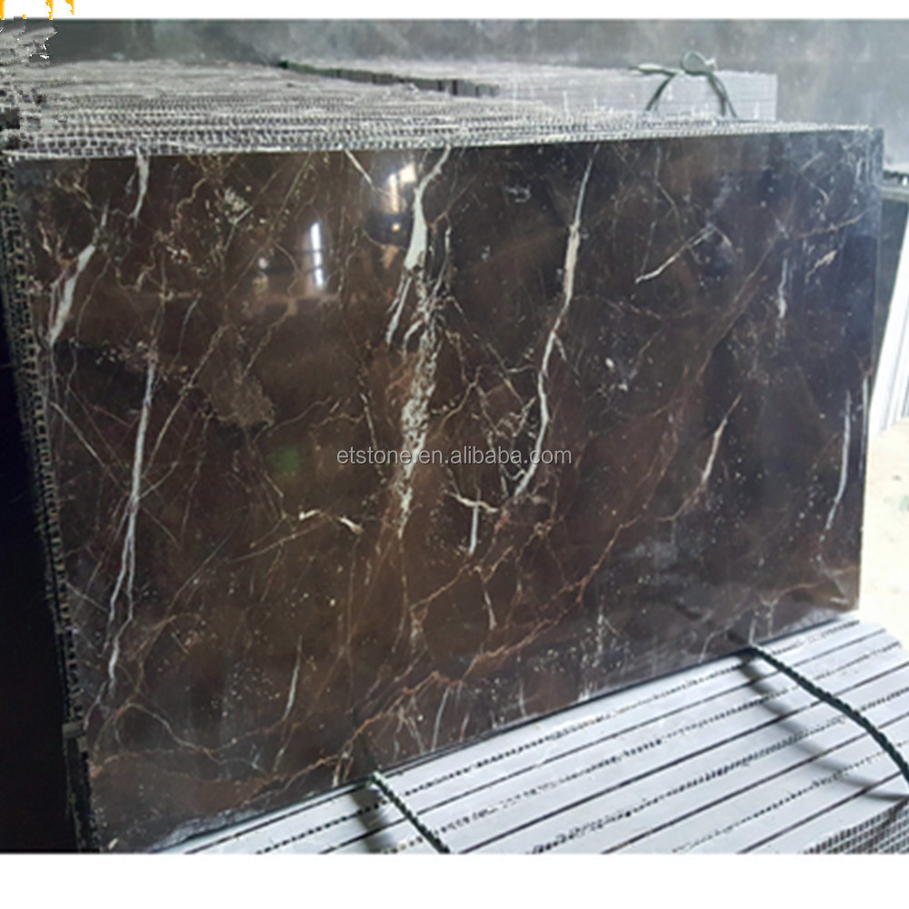 Saint Laurent marble slabs and tiles,Brown french marble,Dark brown marble tiles