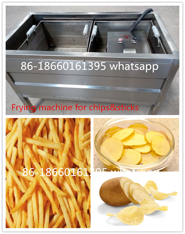 small scale 150kg/h semi automatic french fries machines