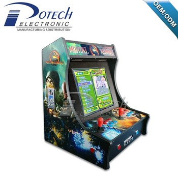 Pacman Mini Bartop Arcade Cabinet 2 Players Games Machines with raspberry pi