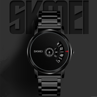Newest IP Black stainless steel strap oem watches manufacturer men classic watches 1260
