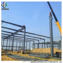 Clear Span Prefabricated High Rise Steel Structure Building