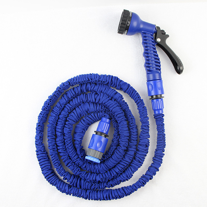 Functional 25ft/7.5m Magic Snake Flexible Retractable Garden Water Hose+ 7 in 1 Spray Gun Car Washing Pipe EU&USA  are available