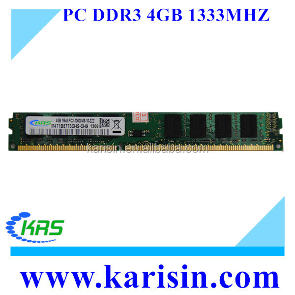 Best Price non ecc ddr3 1gb 2gb 4gb kvr1333d3n9 ram for desktop