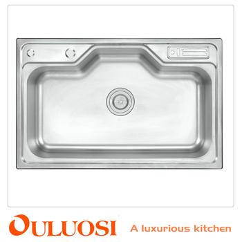 Foshan Supplier 800*500 Royal Kitchen Stainless Steel Sink - Buy ...