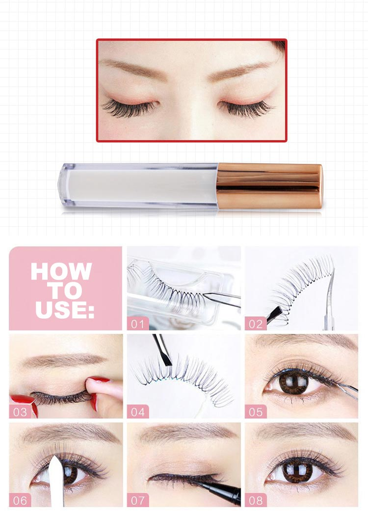 Mytbeauty Strip Wimpers Adhesive Private Label Korea Sterke Wimper Lijm Custom Clear Lash Lijm