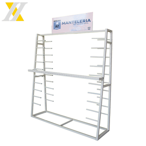 fashionable textile display rack/fabric roll display stands/cloth stands racks