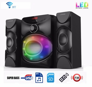 Multifunction home theater karaoke system with bt fm radio usb sd card reader-MP5 function