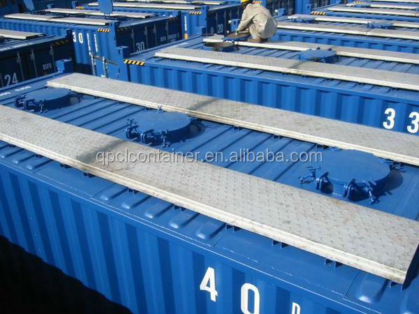 Facilitate Top Load 20ft 20dv Bluk Shipping Container