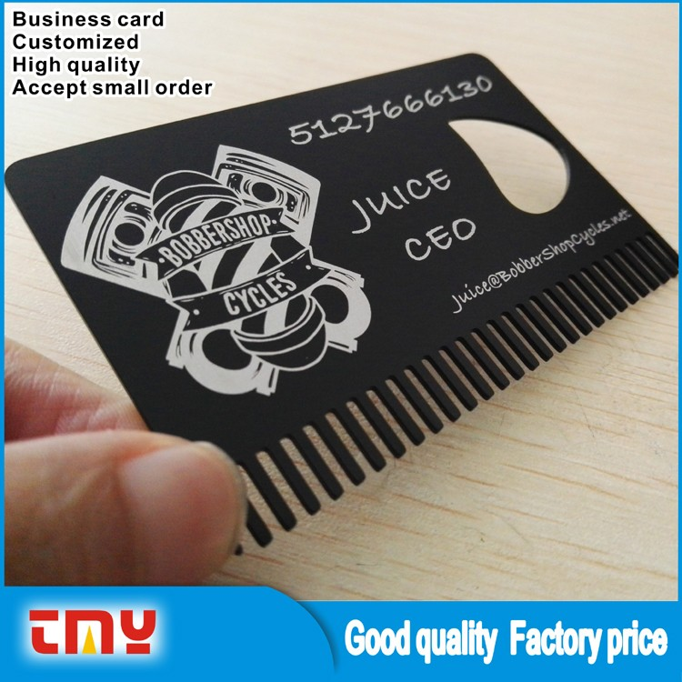 Cheap Blank Metal Business Cards Wholesale,Laser Cut Black Metal ...