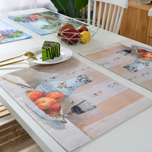 Factory Directly Provide Wine and fruit Restaurant Table Mats
