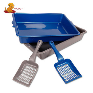 High Quality China Factory Cat Litter Tray With Litter Scoop Free