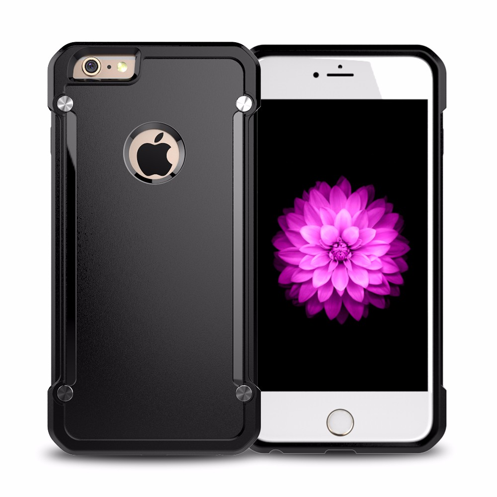 Frosted Transparent PC TPU Bumper Case For iPhone 6 Case for iPhone 6s