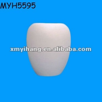 Unpainted Ceramic Bisque Vase Buy Unpainted Vaseceramic White