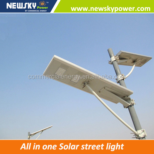 NEWSKYPOWER out door solar light integrated with MPPT controller