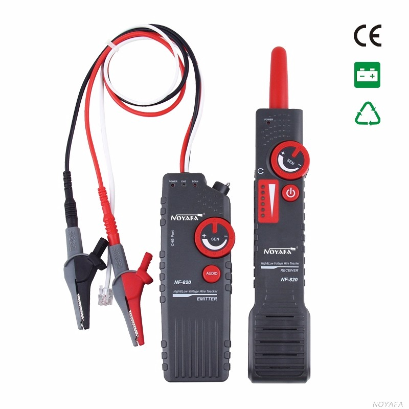 NOYAFA Factory High Voltage Cable Detector NF-820 Wire Tracker