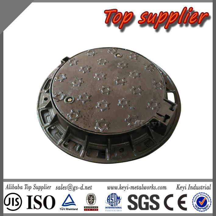 Accountable Supplier Quick Delivery Customized Ductile Round Manhole Factory&EN124 DN400 Manhole Cover