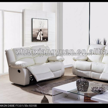 Magnificent 2018 Wholesale Furniture Leather Double Recliners Reclining White Color Leather Sofa Suite Buy Living Room Salon Double Recliner Reclining Whiter Ibusinesslaw Wood Chair Design Ideas Ibusinesslaworg