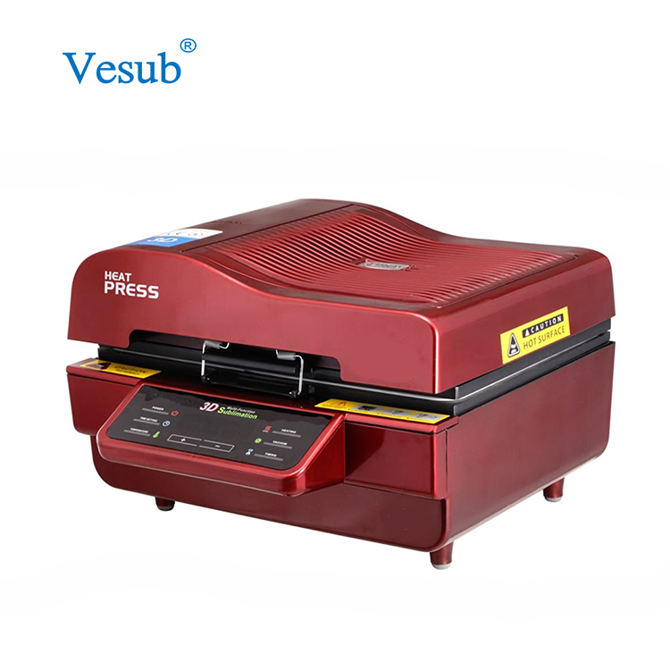 Multifunctional Heat Press 3D Sublimation Vacuum Machine