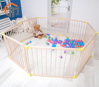Wholesale Cheap Safety Wooden best selling baby playpen