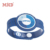 MDSW94 ISO14443A fabric Silicone RFID debossed smart Wristband With chip