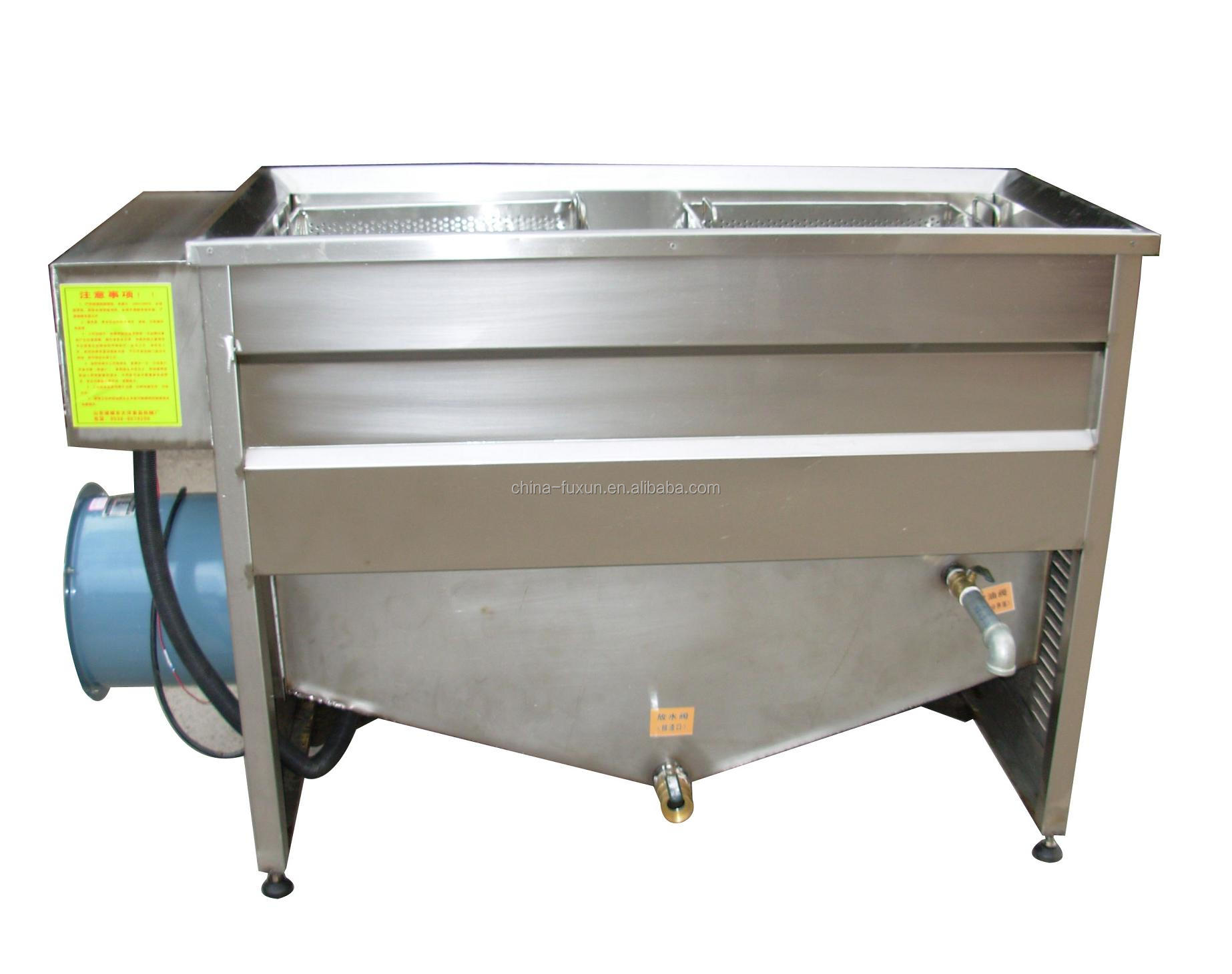 Stainless Steel Gas Commercial Deep Fryers/gas Chips Fryer ...