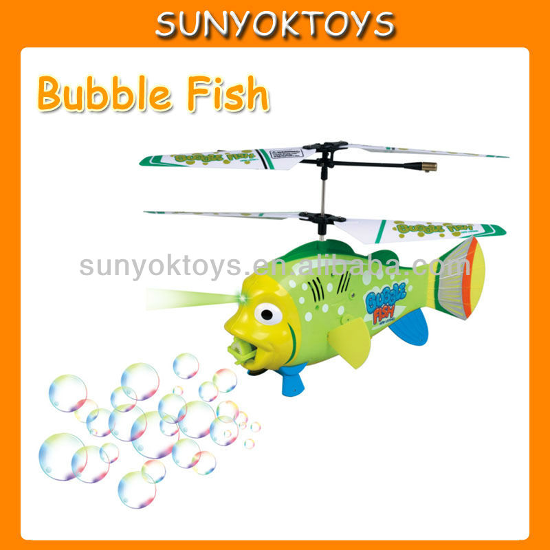 3.5CH Rc Flying Bubble Fish;Remote Control helicopter with gyro