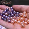 8-9mm Flawless AAAA Grade High Luster Circle Shape Loose Pearls No Holes