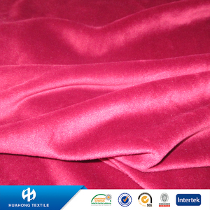 Recycled brushed microfiber polyester spandex fabric for garments