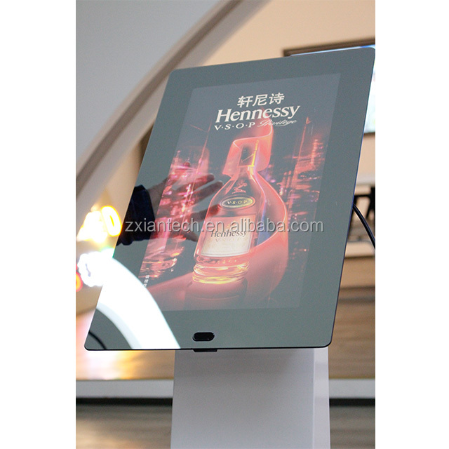 21.5 inch touch screen magic mirror photo no frame