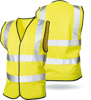 Wholesale EN20471 Custom Traffic Work Construction Security High Visibility Reflective Safety Vest with Logo