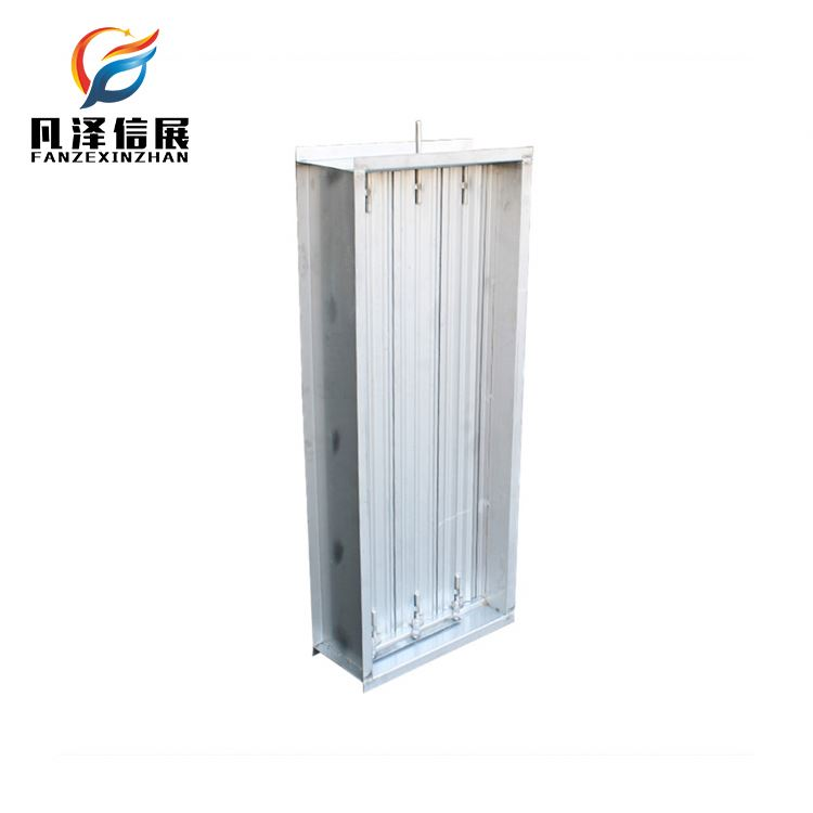 manual duct control volume control air conditioner damper vibration damper for industrial