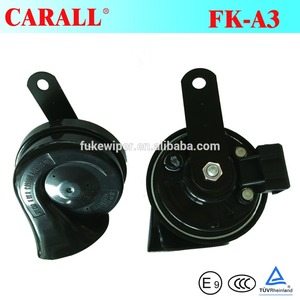 Dual Tone motorcycle horn motor spare parts auto used for sale car horn