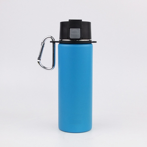 17oz High quality stainless steel vacuum flask thermal gym insulated hydro water bottle with flip cap
